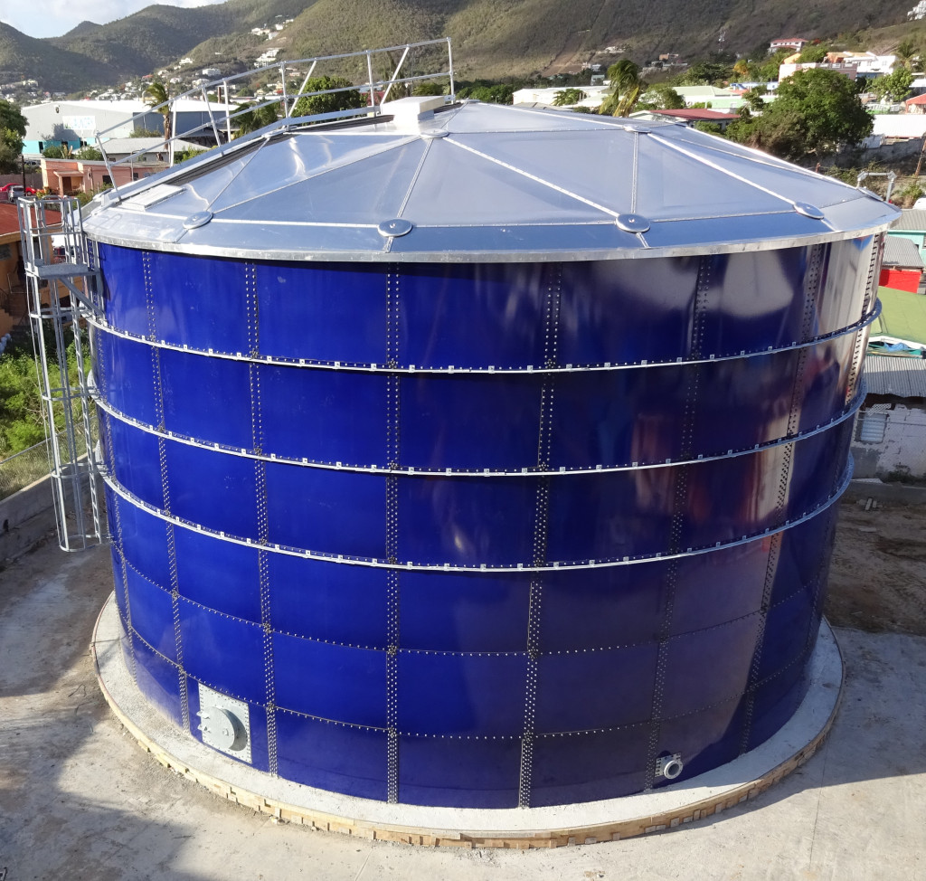 UIG Glass Lined Bolted Storage Tank St Maarten