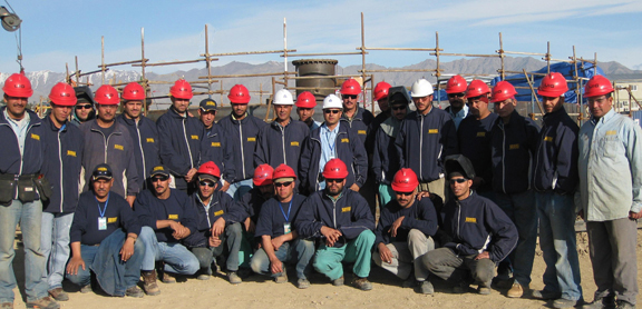 Field Welding Team Afghanistan