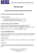 Microsoft Word - UIG Welded Tank Specs AWWA D100